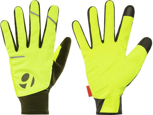 Bontrager Circuit Windshell Gloves Unisex Visibility Yellow